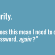 Security quote about passwords