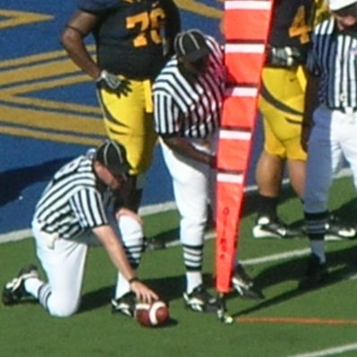 measuring a first down
